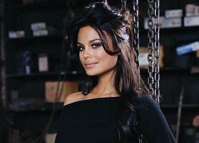 brunettes, women, actress, celebrity, Nathalie Kelley, Tokyo Drift - desktop wallpaper