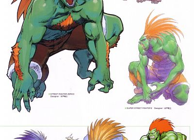 Blanka - random desktop wallpaper
