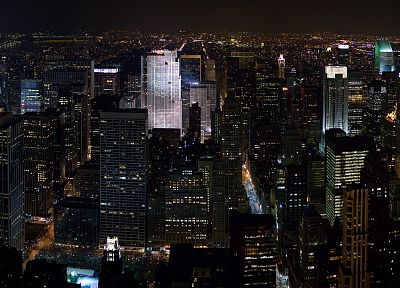 cityscapes, architecture, buildings, New York City - desktop wallpaper