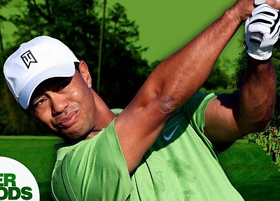 green, golf, Tiger Woods, Australian - random desktop wallpaper