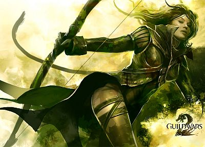 video games, Guild Wars, fantasy art, Guild Wars 2 - desktop wallpaper