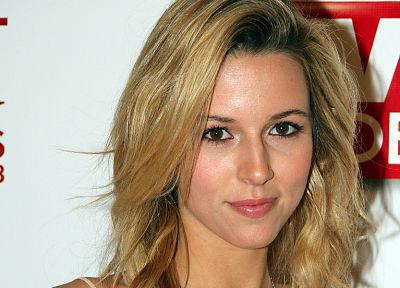 blondes, women, Alona Tal, faces, portraits - related desktop wallpaper