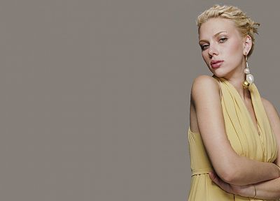 blondes, women, Scarlett Johansson, actress - desktop wallpaper