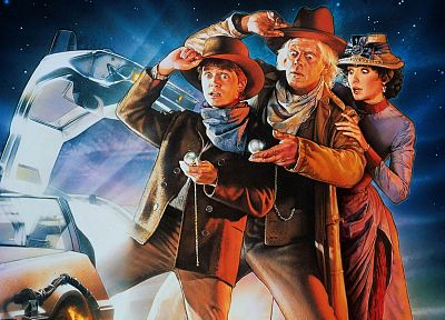 movies, Back to the Future, Doc Brown, Marty McFly - related desktop wallpaper