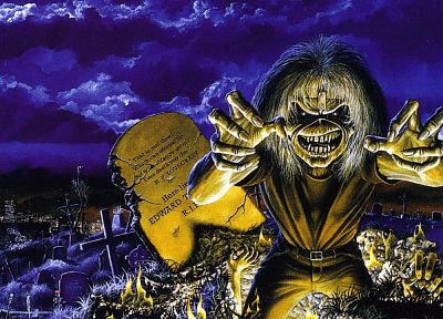 Iron Maiden, Eddie the Head - desktop wallpaper