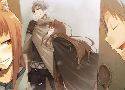 Spice and Wolf, animal ears, Craft Lawrence, Holo The Wise Wolf - random desktop wallpaper