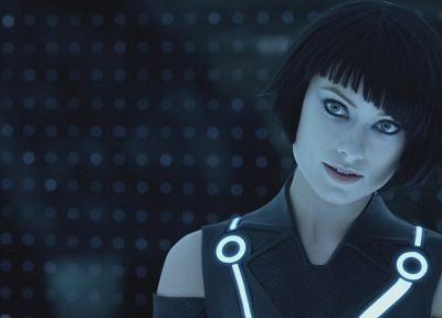 movies, Olivia Wilde, Tron Legacy, Quorra - random desktop wallpaper
