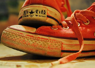 red, shoes, Converse, sneakers - random desktop wallpaper