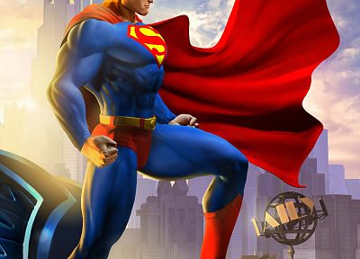 video games, DC Comics, Superman, artwork - related desktop wallpaper