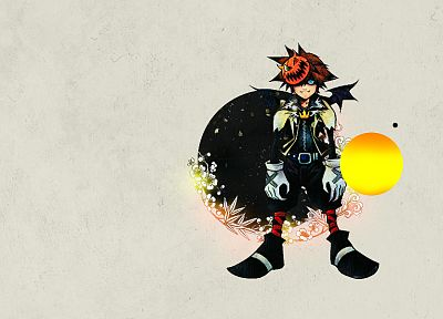 video games, Kingdom Hearts, Sora (Kingdom Hearts) - random desktop wallpaper