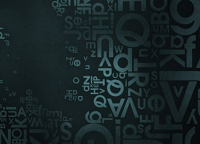 abstract, typography - related desktop wallpaper