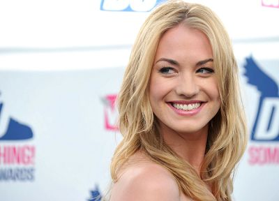 blondes, women, actress, Yvonne Strahovski - related desktop wallpaper