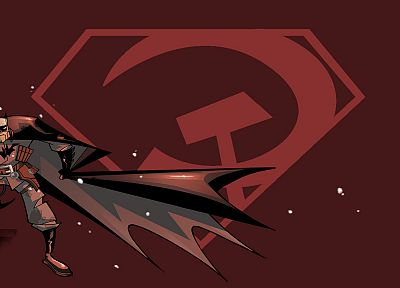Batman, Communist - desktop wallpaper