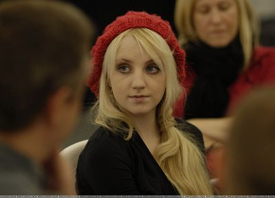 blondes, women, Evanna Lynch - random desktop wallpaper