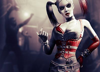Batman, video games, Harley Quinn, Arkham City, Batman Arkham City - desktop wallpaper