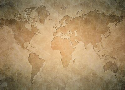 world map - random desktop wallpaper
