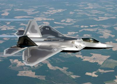 aircraft, military, F-22 Raptor, planes, vehicles - desktop wallpaper