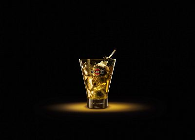 alcohol, martini, beverages, drinks, Dolce and Gabbana, black background - desktop wallpaper