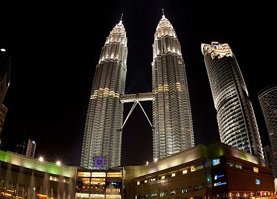 cityscapes, towns, skyscrapers, Malaysia, Petronas Towers, city skyline, cities - related desktop wallpaper