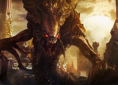 video games, StarCraft, Zerg, StarCraft II - related desktop wallpaper