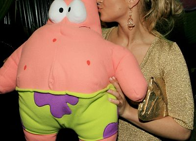 blondes, women, actress, Hayden Panettiere, celebrity, Patrick Spongebob - related desktop wallpaper