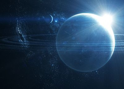 outer space, planets, DeviantART - desktop wallpaper