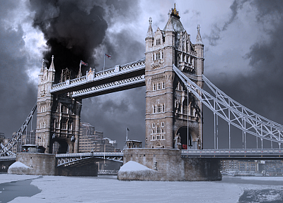 movies, architecture, London, Tower Bridge - random desktop wallpaper