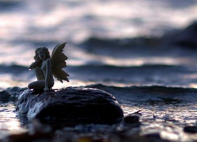 angels, water, fairies, statues, macro - random desktop wallpaper