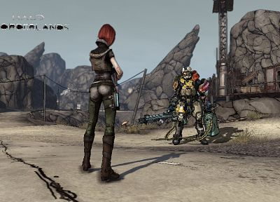 video games, Borderlands, Lilith - desktop wallpaper
