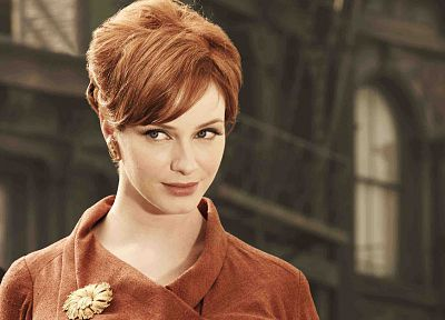 women, redheads, Christina Hendricks, Mad Men - related desktop wallpaper