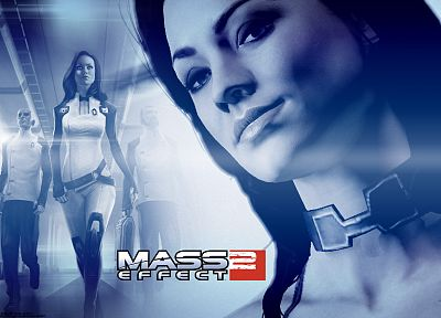 video games, Mass Effect, Yvonne Strahovski, Miranda Lawson, BioWare, Mass Effect 2 - desktop wallpaper