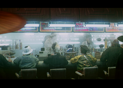 Blade Runner, restaurant, white dragon - random desktop wallpaper