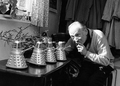 Dalek, Doctor Who, William Hartnell - desktop wallpaper