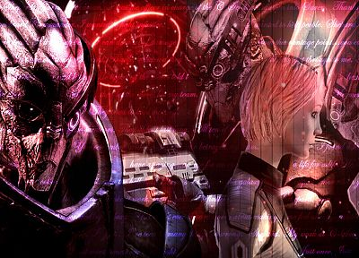 Mass Effect, science fiction, FemShep, Commander Shepard - random desktop wallpaper