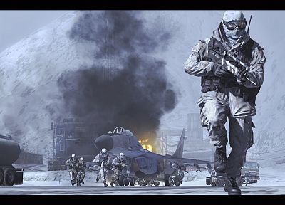 military, Call of Duty: Modern Warfare 2 - desktop wallpaper