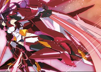 Infinite Stratos, Shinonono Houki, mecha musume - random desktop wallpaper