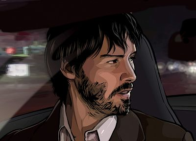 movies, Keanu Reeves, A Scanner Darkly - newest desktop wallpaper