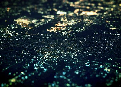 skylines, tilt-shift, cities - related desktop wallpaper