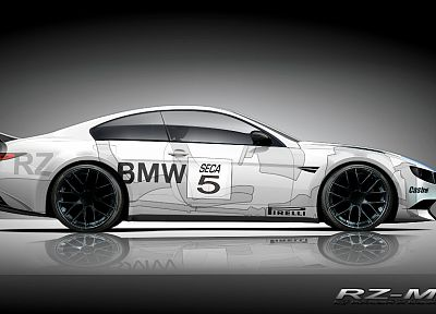 cars, concept art, BMW M6 - random desktop wallpaper