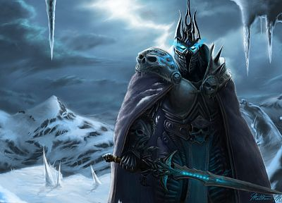 World of Warcraft, Lich King - desktop wallpaper