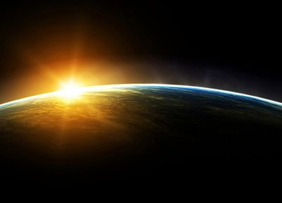 outer space, stars, planets, Earth, orbit - related desktop wallpaper