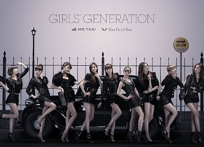 women, Girls Generation SNSD, celebrity, high heels, Run Devil Run - desktop wallpaper