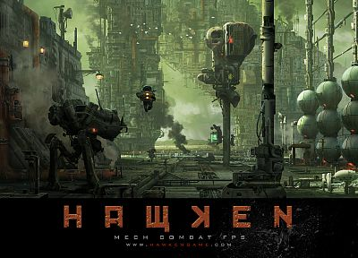 video games, Hawken - random desktop wallpaper