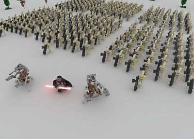 Star Wars, Lego Star Wars - random desktop wallpaper