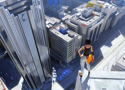 Mirrors Edge, case, Faith Connors - related desktop wallpaper