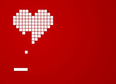 love, hearts, simple background - related desktop wallpaper