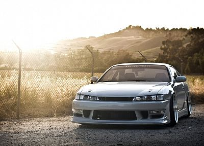 cars, vehicles, tuning, JDM Japanese domestic market, Nissan Silvia S14, kouki - random desktop wallpaper