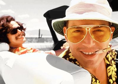 Fear and Loathing in Las Vegas, Las Vegas, Johnny Depp, Raoul Duke - random desktop wallpaper