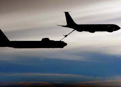 aircraft, B-52 Stratofortress, KC-135 Stratotanker - random desktop wallpaper