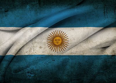 Argentina, flags - random desktop wallpaper